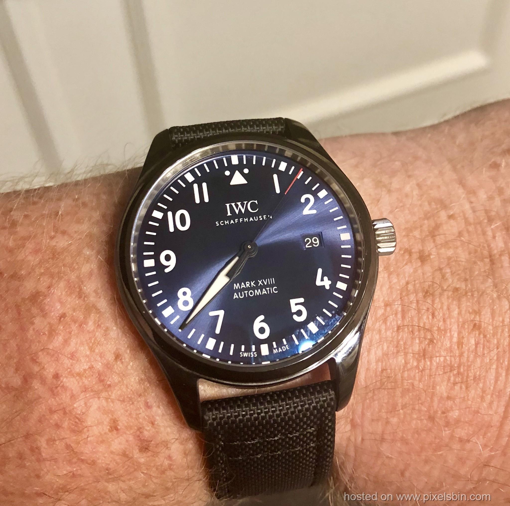 pretty nice 614ce 1c961 New MARK XVIII SPECIAL EDITION REF. IW324703 - Replica Watch ...